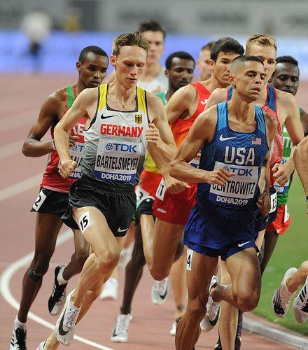Amos Bartelsmeyer übersteht 1500-Meter-Vorlauf und macht das WM-Halbfinale