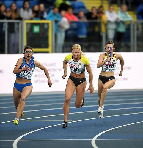 Probleme mit einer alten Verletzung bei Lisa Mayer bedeuten das Olympia-Aus für die Athletin vom Sprintteam Wetzlar